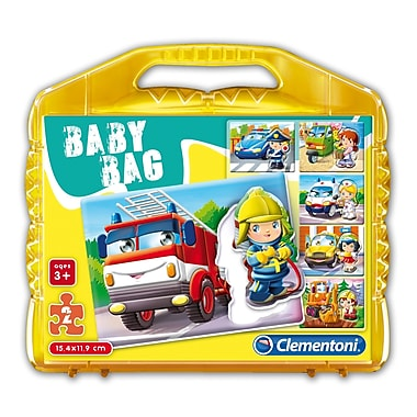 Clementoni Baby bag: Vehicles, 2 Piece