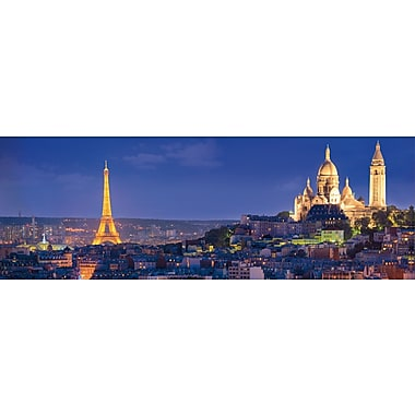 Clementoni Panorama, Soiree A Paris, 1000 Pieces