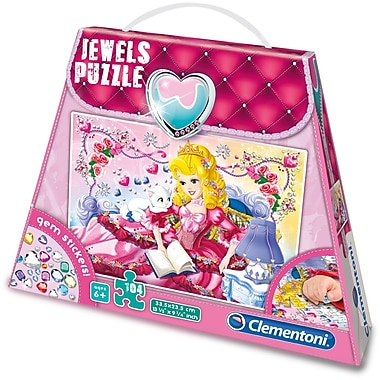 Clementoni Jewels: Puzzle Princess, 104 Pieces