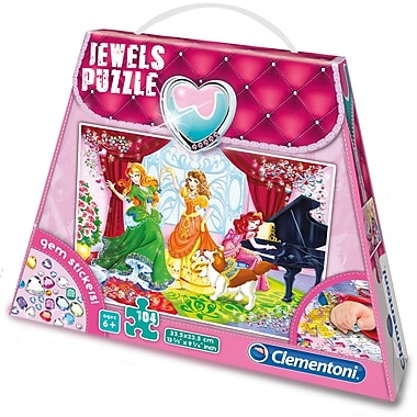 Clementoni Jewels: Play and Dance, 104 Pieces