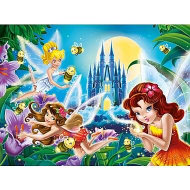 Clementoni Glitter: Fairies Night, 200 Pieces