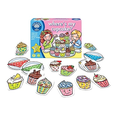 Orchard Toys Where's My Cupcake?, Multilingual