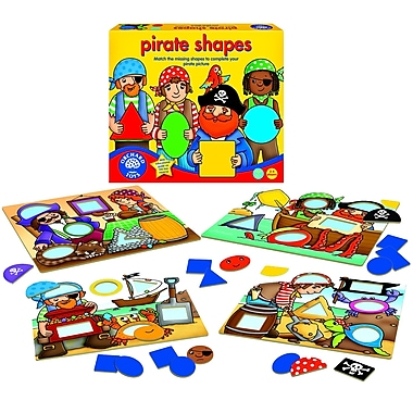 Orchard Toys Pirate Shapes, Multilingual
