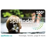 Spafinder Wellness 365 $100 Gift Card