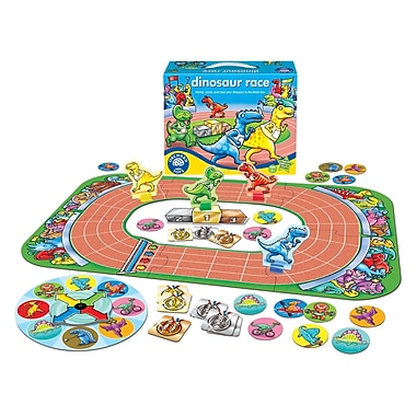 Orchard Toys Dinosaur Race Game, Multilingual