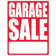 "Cosco® Garage Sale Sign Kit With Letters, 11"" x 14"""