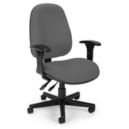 OFM Comfyseat 122 Fabric Computer Task Chair with Arms