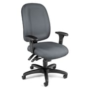 OFM Ergonomic 125-801 Fabric Task Chair with Arms, Gray