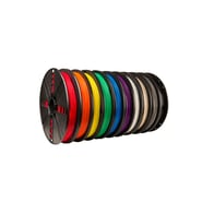 True Color Large PLA Filament 10 Pack (Black, White, Red, Orange, Yellow, Green, Blue, Purple, Warm Gray, Cool Gray)