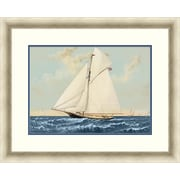 "Sailing 1 Framed Art, 32"" x 26"""