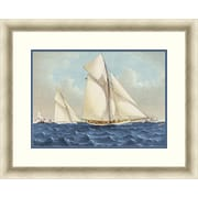 "Sailing 2 Framed Art, 32"" x 26"""