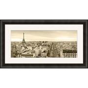 "Paris Landscape Framed Art, 45"" x 25"""
