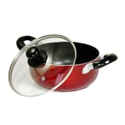 Better Chef® 10 qt. Non Stick Aluminum Dutch Oven, Red