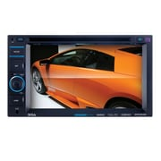 "Boss® In-Dash Double-DIN 6.2"" Touchscreen Monitor Bluetooth DVD Player"