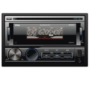 Boss® In-Dash Double-DIN Detachable Face DVD Player