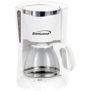 Brentwood® 900 W 12-Cup Coffee Maker, White