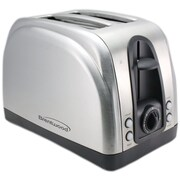 Brentwood® 2-Slice 1500 W Electric Toaster With Extra Function, Stainless Steel