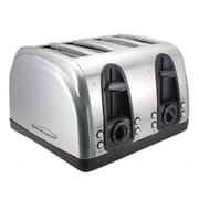 Brentwood® 4-Slice 1500 W Toaster With Extra Function, Stainless Steel