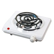Brentwood® Electric 1000 W Single Burner, White