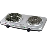 Brentwood® Electric 1500 W Spiral Double Burners
