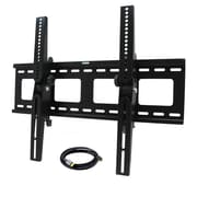 "MegaMounts STM3255USB Tilt Wall Mount With HDMI Cable For 32"" - 55"" TVs Upto 145 lbs."