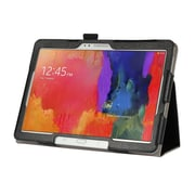 "Mgear Double Fold Folio Case For 10.1"" Samsung Galaxy Tab, Black"