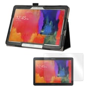"Mgear Double Fold Folio Case Bundle For 10.1"" Samsung Galaxy Tab Pro"