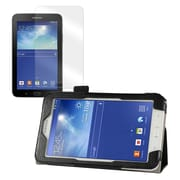 Mgear Double Fold Folio Case Bundle For Samsung Galaxy Tab 3 Lite