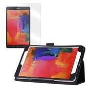 """Mgear Double Fold Folio Case Bundle For 8.4"""" Samsung Galaxy Tab Pro"""