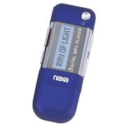 Naxa® NM-145A 4GB MP3 Player With Built-in Flash Memory/LCD Display, Blue
