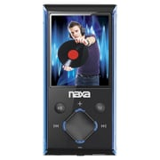 "Naxa® NMV-173-Portable Media Players With 1.8"" Screen/4GB Memory/FM Radio/microSD Card Slot"