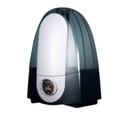 Optimus U-31006 2 gal. Output Cool Mist Ultrasonic Humidifier With LCD Display, Black/White