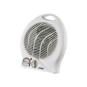 Optimus H-1322-Portable Fan Heater With Thermostat, White