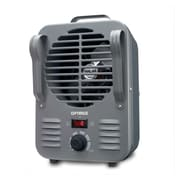 Optimus H-3011 Medium Size-Portable Utility Heater With Thermostat, Gray