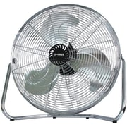 "Optimus 3-Speed 18"" High Velocity Industrial Fan, Silver"