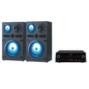 QFX® High End Speakers With Amplifier, Black