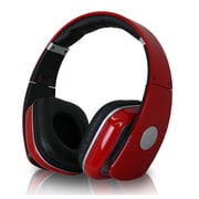 Technical Pro HP630 High Performance Professional Headphone With Adjustable Headband, Red