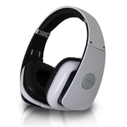 Technical Pro HP630 High Performance Professional Headphone With Adjustable Headband, White