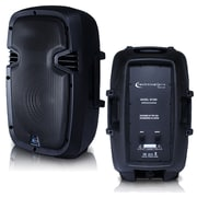 """Technical Pro w1250 ABS Molded 12"""" Two Way Passive Loudspeaker, Black"""