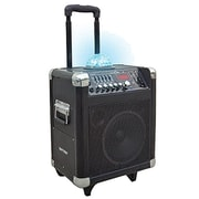 Technical Pro WASP800LGUBT 800 W Rechargeable-Portable PA System With Microphones and Remote