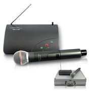 Technical Pro WM710U Single UHF Handheld Microphone System With Wireless Microphone/Receiver