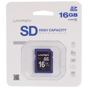 Unirex® 16GB SD High Capacity Class 10 Memory Card