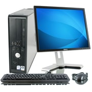 Refurbished Dell Optiplex 755 2.4GHz Core 2 Duo DVD Small Form Factor Computer PC with 19 LCD monitor