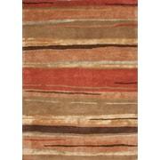 Jaipur Bernini Rectangle Rug Wool & Silk 2' x 3', Classic Rust & Bronze Green