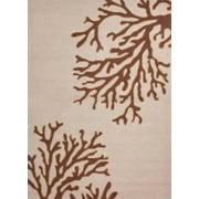 "Jaipur Abstract Pattern Rectangular Area Rug Polypropylene, 5' x 7'6"""