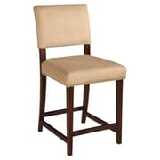 Linon Corey 24'' Bar Stool with Cushion