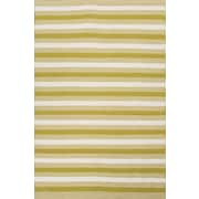 Jaipur Easy Care Area Rug 100% Polyester 5' x 8', Lime