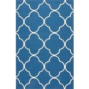 Jaipur Rug 100% Polypropylene 2' x 3', Blue & White