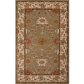Jaipur Poeme Ivory & Gray Oriental Area Rug 100% Wool
