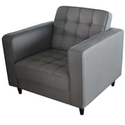 Moe's Home Collection Romano Arm Chair; Light Grey